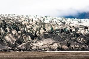 Größer als die Niederlande: Der Gletscher des Vatnajökull bei Skaftafell