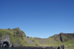 Einen wirklich wolkenlosen Himmel gibt es auf Island äußerst selten
