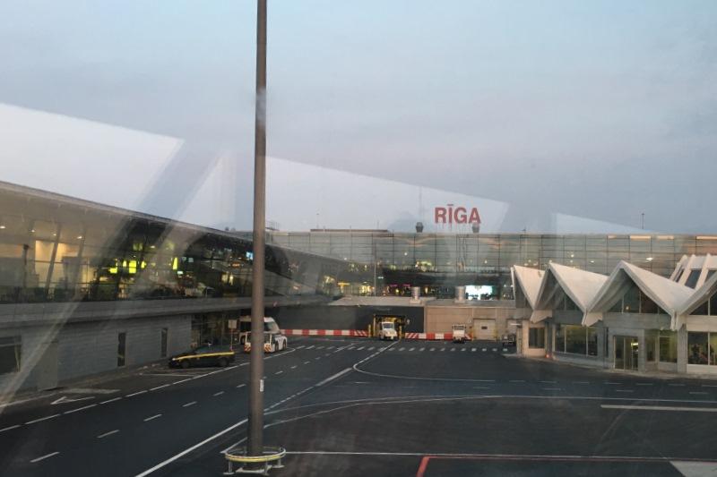 Flughafen von Riga